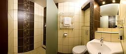 Nice bathroom in the Thermal Hotel Mosonmagyarovar***