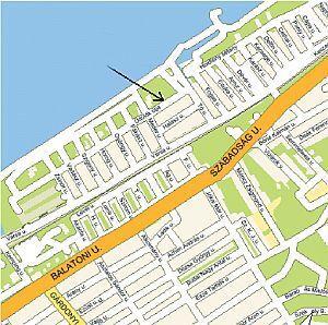 Velencei tó - térkép Gárdony - Hotel Gárdony - LOKOMOTIV hotel Gárdony