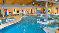 Hotel Azur in Siofok with huge indoor and outdoor pools, jacuzzi and children's pool
