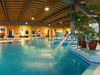 Wellness Hotel Azur on the south shore of Lake Balaton in Siofok, with indoor and outdoor pools
