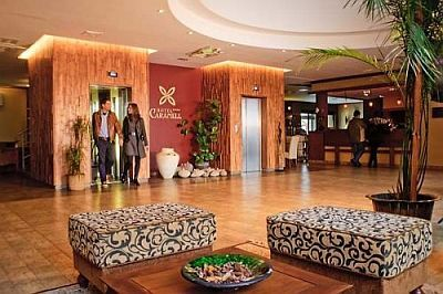 Caramell Premium Resort Hotel 4* holistic spa hotel in Bukfurdo
