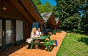 Kalmar bungalows in Club Tihany - bungalows for 3 persons - holiday club on the shore of Lake Balaton