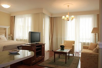 Suite of Queens Court Hotel Residence - 5-star luxury all suite hotel in Budapest