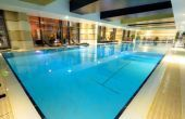 Indoor pool of Hotel Divinus - wellness weekend in Debrecen