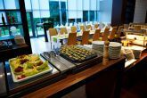 4* Abacus Wellness Hotel's restaurant with full of delicacies
