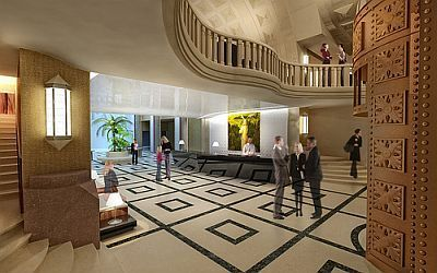 Continental Hotel Budapest - lobby - new 4-star hotel in the centre of Budapest