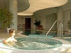 Jacuzzi in the wellness section of Szepia Bio Art Hotel - 4-star wellness hotel in Zsambek