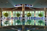 Spa Thermal Hotel Lotus wellness department - indoor thermal pool of the 5-star hotel in Heviz