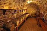 Fried Castle Hotel Simontornya - wine cellar with quality wines