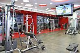Sala fitness con macchine cardio - Bliss Wellness Hotel Budapest - hotel benessere a Budapest