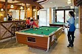 Game room in the Wellness Hotel in Gyula - Wellness holiday for the whole family in Gyula