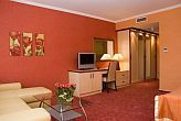 4* two-room hotel room in Cserkeszolo in Aqua Spa Hotel