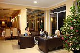 Hotel Aqua Spa Cserkeszolo 4* - elegant lobby and drink bar