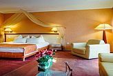 Romantic and elegant hotel room in Aqua-Spa Wellness and Conference Hotel Cserkeszolo