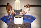 Hotel Azur Premium steam room to wellness lovers for wellness weekend