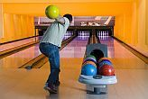 Bowling alley in Siofok in Hotel Azur Premium