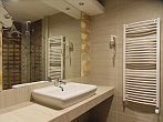 The modern and elegant bathroom of the Hotel Atlantis****