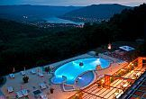 Wellness holiday in the Hotel Silvanus romantic outdoor pool