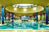 Wellness Hotel Silvanus indoor pool near the royal palace of Visegrad
