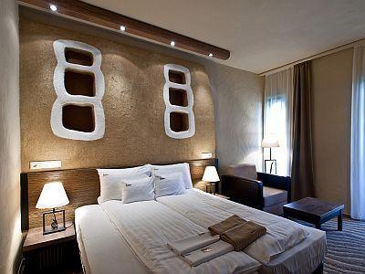 Hôtel Bambara Felsőtárkány - chambre á 2 lits de style africain
