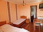 Cheap Hotel Royal in Cserkeszolo with bathroom, balcony and refrigerator