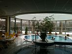 Thermal swimming pool of Visegrad Thermal Hotel for wellness weekend