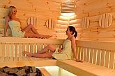 Sauna in Hotel Residence Siofok for a discount wellness weekend