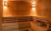Hotel Corvus Aqua - sauna for a wellness weekend in Gyoparosfurdo