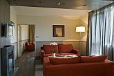 Mamaison Hotel Andrassy - suite with fireplace in Budapest