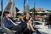 Hotel Sopron - terrace in a quiet and silent environment