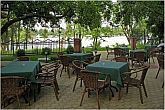 Alfa Art Hotel - terrace with panoramic view on the Danube