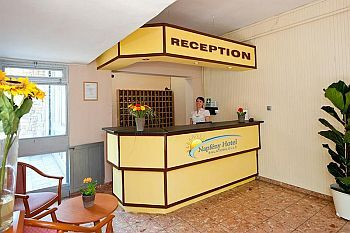 Hotel Napfeny in Balatonlelle - hotel directly on the shore of lake Balaton
