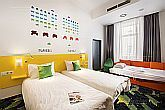 Ibis Styles Budapest Center - hotel room at affordable price in the centre of Budapest close to Blaha Lujza ter