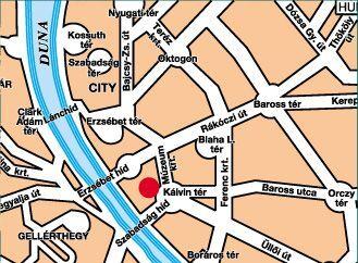 Hotel Mercure Korona - Map - Budapest Mercure Korona