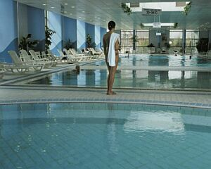 Kuur- en thermaalbaden in Danubius Health Spa Resort Helia in Boedapest