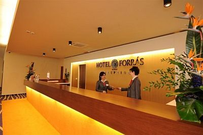 Рецепция отеля Hunguest Hotel Forras in Szeged
