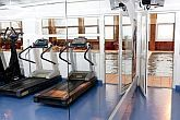 Fitness room of Hotel Helikon at Lake Balaton with wellness facilities