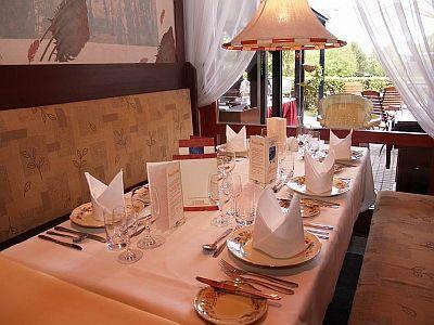Étterem Bükfürdőn a termál sport hotel Bükben